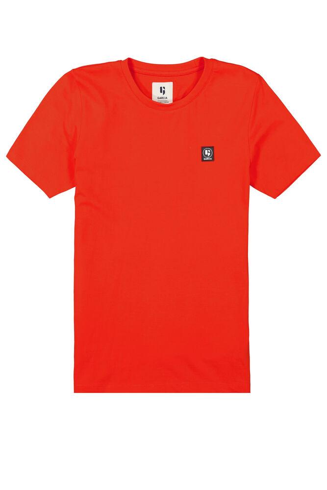 Garcia t-shirt rood z 3025