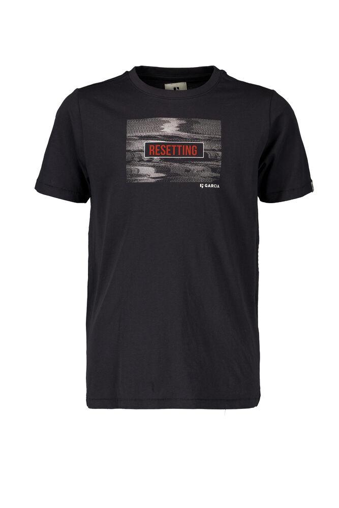 Garcia t-shirt donkergrijs pg 130303