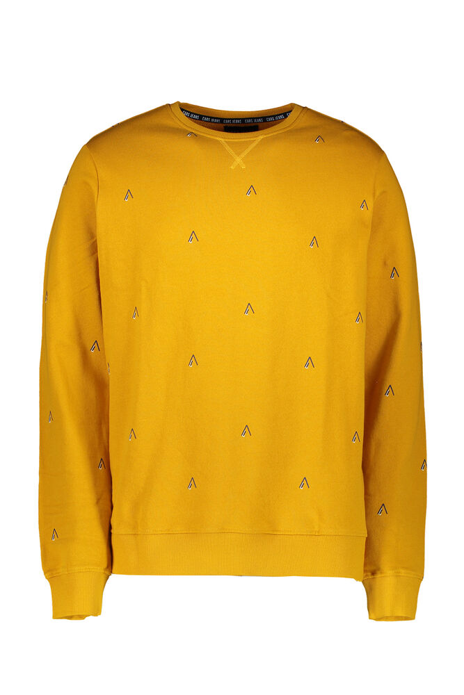 Cars sweater cento geel