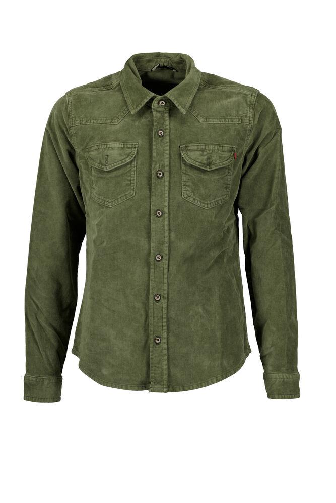 Ltb overhemd olijfgroen rohan kids